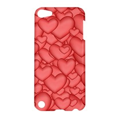 Background Hearts Love Apple Ipod Touch 5 Hardshell Case