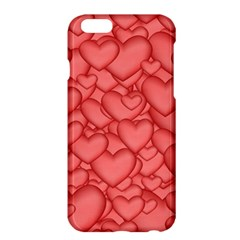 Background Hearts Love Apple Iphone 6 Plus/6s Plus Hardshell Case