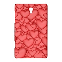 Background Hearts Love Samsung Galaxy Tab S (8 4 ) Hardshell Case