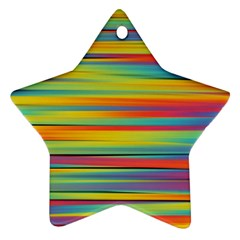 Colorful Background Ornament (star)