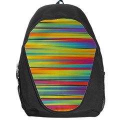 Colorful Background Backpack Bag
