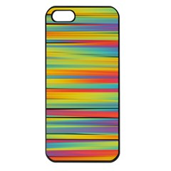 Colorful Background Apple Iphone 5 Seamless Case (black)
