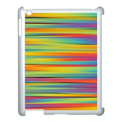 Colorful Background Apple Ipad 3/4 Case (white)