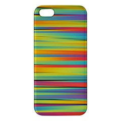Colorful Background Apple Iphone 5 Premium Hardshell Case