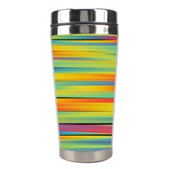 Colorful Background Stainless Steel Travel Tumblers