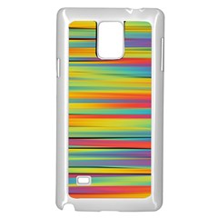Colorful Background Samsung Galaxy Note 4 Case (white)