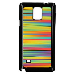 Colorful Background Samsung Galaxy Note 4 Case (black)