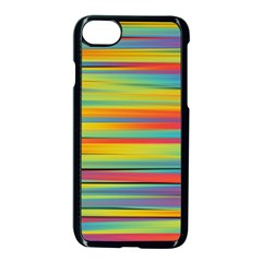 Colorful Background Apple Iphone 7 Seamless Case (black)