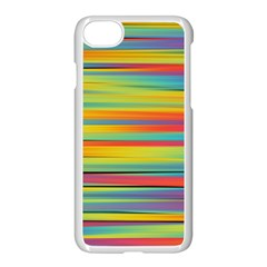 Colorful Background Apple Iphone 8 Seamless Case (white)