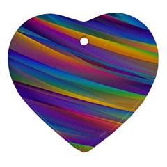 Colorful Background Ornament (heart)