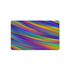 Colorful Background Magnet (name Card)