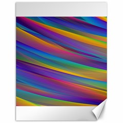 Colorful Background Canvas 12  X 16