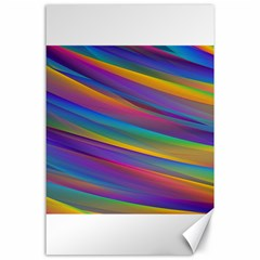 Colorful Background Canvas 24  X 36