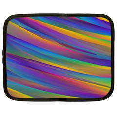 Colorful Background Netbook Case (xl)