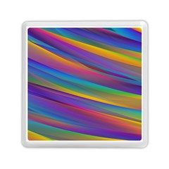 Colorful Background Memory Card Reader (square)