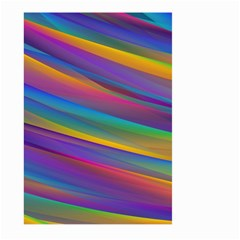 Colorful Background Large Garden Flag (two Sides)