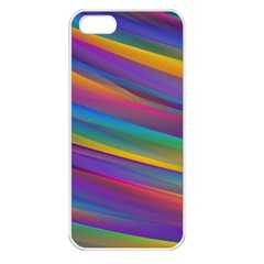 Colorful Background Apple Iphone 5 Seamless Case (white)