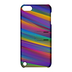 Colorful Background Apple Ipod Touch 5 Hardshell Case With Stand