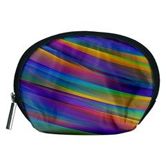 Colorful Background Accessory Pouches (medium)