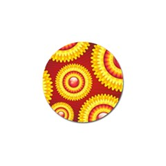 Floral Abstract Background Texture Golf Ball Marker (10 Pack)