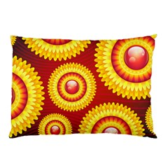 Floral Abstract Background Texture Pillow Case (two Sides)