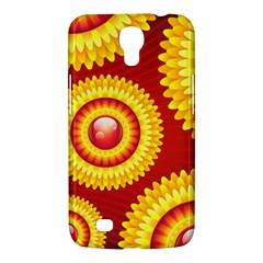 Floral Abstract Background Texture Samsung Galaxy Mega 6 3  I9200 Hardshell Case