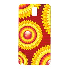 Floral Abstract Background Texture Samsung Galaxy Note 3 N9005 Hardshell Back Case