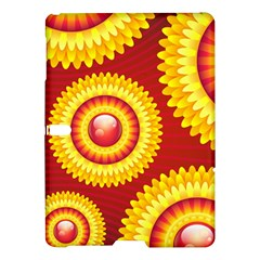 Floral Abstract Background Texture Samsung Galaxy Tab S (10 5 ) Hardshell Case