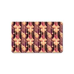 Seamless Pattern Patterns Magnet (name Card)