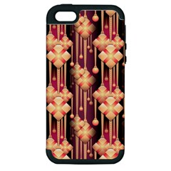 Seamless Pattern Patterns Apple Iphone 5 Hardshell Case (pc+silicone)