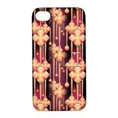 Seamless Pattern Patterns Apple Iphone 4/4s Hardshell Case With Stand