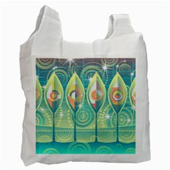 Background Landscape Surreal Recycle Bag (two Side)