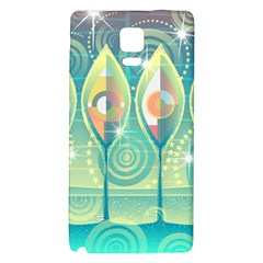 Background Landscape Surreal Galaxy Note 4 Back Case