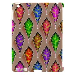 Abstract Background Colorful Leaves Apple Ipad 3/4 Hardshell Case (compatible With Smart Cover)
