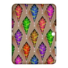 Abstract Background Colorful Leaves Samsung Galaxy Tab 4 (10 1 ) Hardshell Case