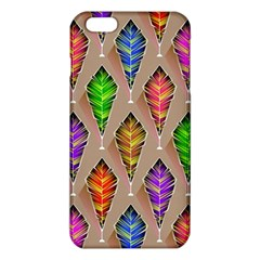 Abstract Background Colorful Leaves Iphone 6 Plus/6s Plus Tpu Case