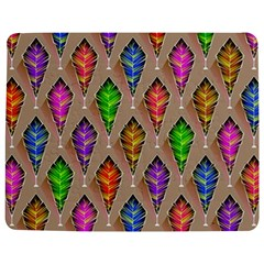 Abstract Background Colorful Leaves Jigsaw Puzzle Photo Stand (rectangular)