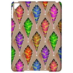 Abstract Background Colorful Leaves Apple Ipad Pro 9 7   Hardshell Case