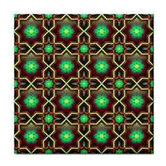 Pattern Background Bright Brown Tile Coasters