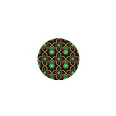 Pattern Background Bright Brown 1  Mini Buttons