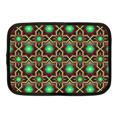 Pattern Background Bright Brown Netbook Case (medium)