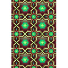 Pattern Background Bright Brown 5 5  X 8 5  Notebooks