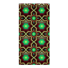 Pattern Background Bright Brown Shower Curtain 36  X 72  (stall)