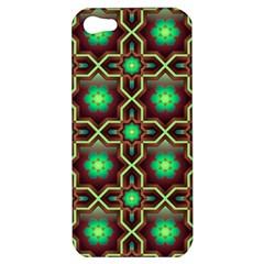 Pattern Background Bright Brown Apple Iphone 5 Hardshell Case