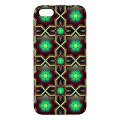 Pattern Background Bright Brown Apple Iphone 5 Premium Hardshell Case