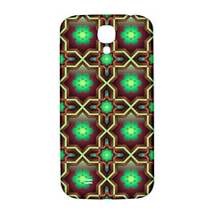 Pattern Background Bright Brown Samsung Galaxy S4 I9500/i9505  Hardshell Back Case