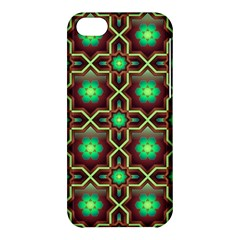 Pattern Background Bright Brown Apple Iphone 5c Hardshell Case