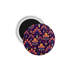 Abstract Background Floral Pattern 1 75  Magnets