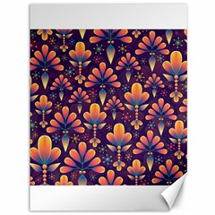 Abstract Background Floral Pattern Canvas 36  X 48
