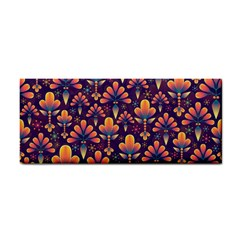 Abstract Background Floral Pattern Cosmetic Storage Cases